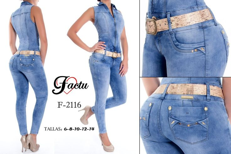 Enterizo colombiano Factu Jeans +Modelos en: http://www.ropadesdecolombia.com/index.php?route=product/category&path=112