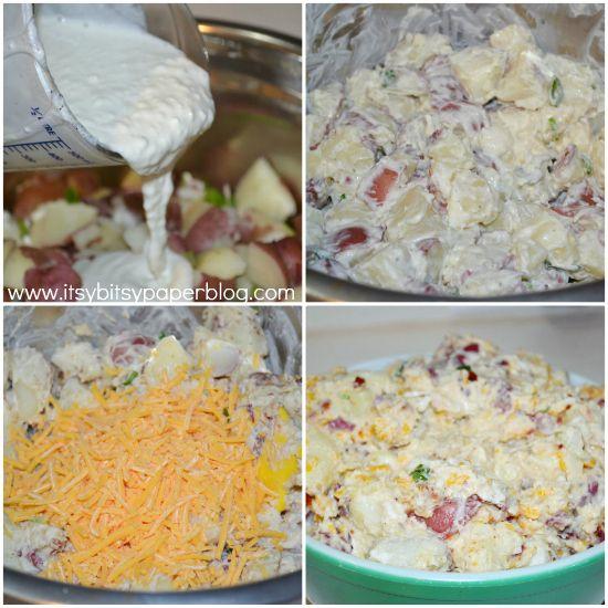 . . . Loaded Baked Potato Salad . . .VERY GOOD!