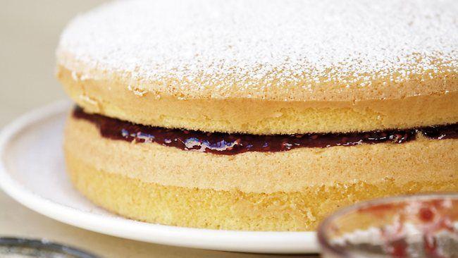 cwa sponge cake recipe • CWA Australia • follow the link to read the recipe