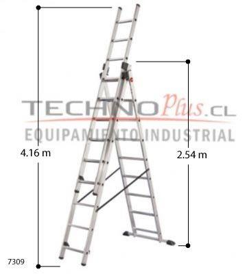 Las 25 mejores ideas sobre escalera tijera en pinterest y - Escaleras metalicas plegables ...