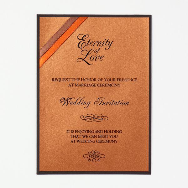 結婚式 招待状 Chocolat 1