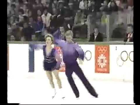 """Torvill & Dean, British ice dance team won gold at the 1984 Olympics for their famous rendition of """"Bolero"""""""