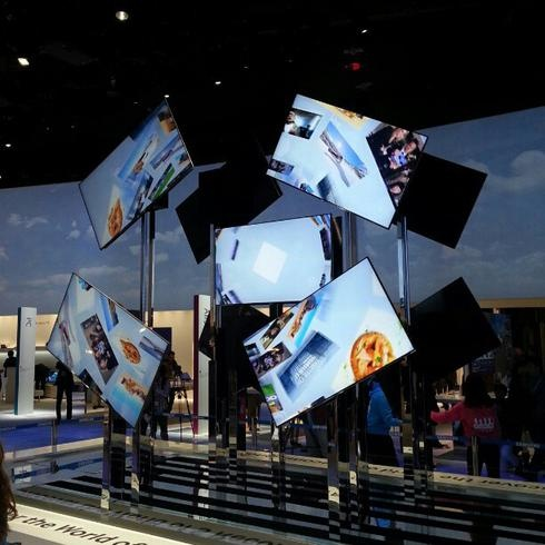 Samsung Booth from CES 2013 - Want a SMART TV!