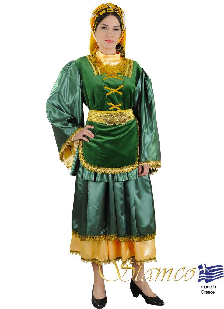 Greek costumes for women, Greek traditional costume  aegean Islands,cyclades MYKONOS WOMAN