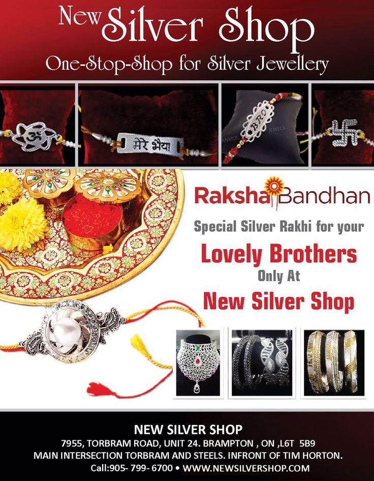 New #Silver #Shop provide best #silver #Rakhi for your #lovable #brother in this #RakshaBandhan. So do not miss this chance and go to newsilvershop.COM today !!  #SilverRakhiinBrampton #Silver_Rakhi #Raksha_Bandhan