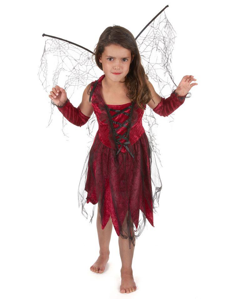 Böse Fee Halloween-Kinderkostüm rot-schwarz , günstige Faschings  Kostüme bei Karneval Megastore, der größte Karneval und Faschings Kostüm- und Partyartikel Online Shop Europas!