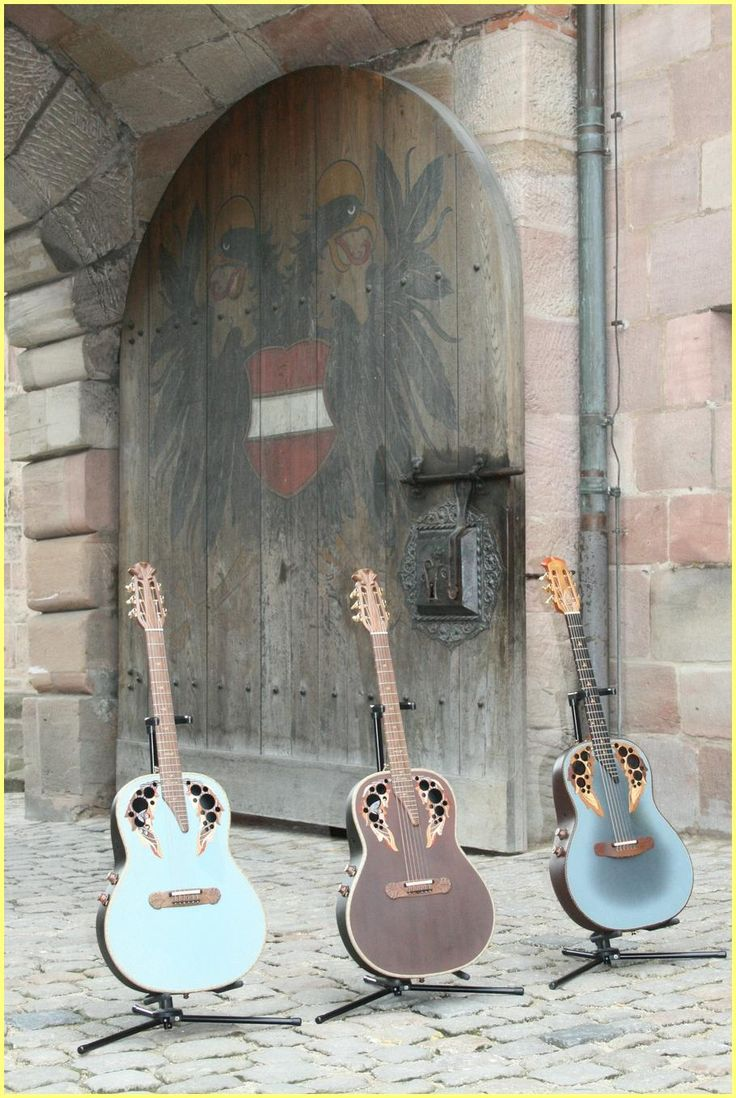 Ovation Guitars! over the years I have owned several....including a 12-string, which I wish like mad I had never sold....