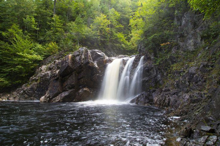Three Brook Falls, Flat Bay Newfoundland