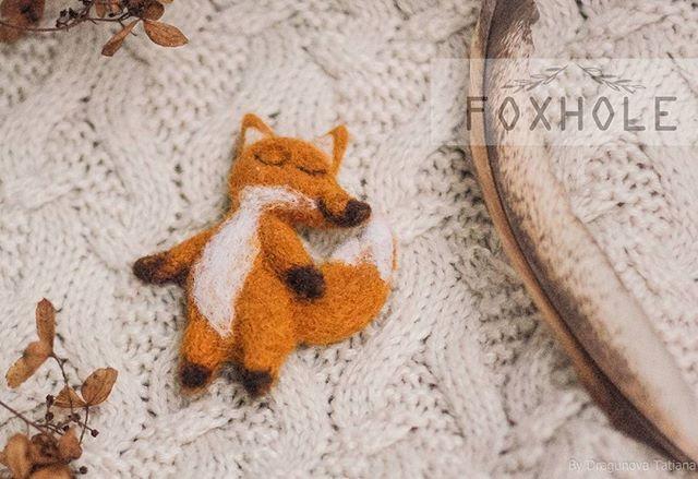 New felted fox-brooch #fox #felt #felting #wool #work #orange #foxhole_galery #forest #brooch #animals #брошь #лиса #шерсть #войлок #валяние #рыжий #мастеркрафт #животные #mysolutionforlife