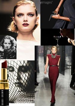 Femme fatale collage
