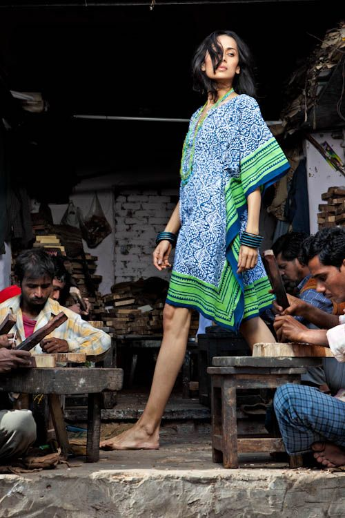 Stylish Indian block print chic