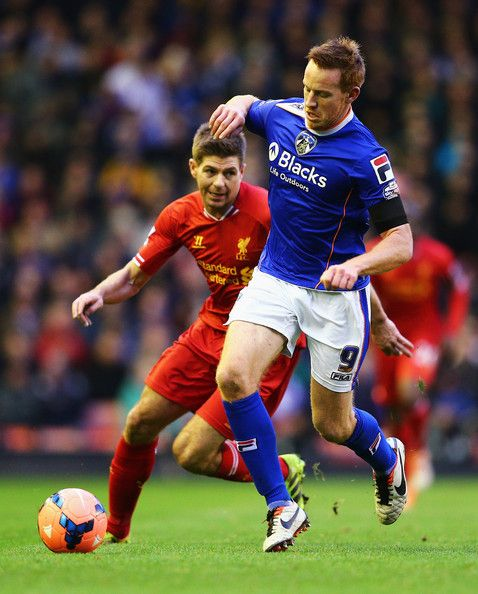 Steven Gerrard - Liverpool v Oldham Athletic - FA Cup Third Round