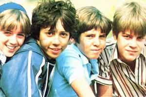 Jennifer Thanisch (Anne), Michele Gallagher (Georgina), Gary Russell (Dick) + Marcus Harris (Julian) - Fünf Freunde