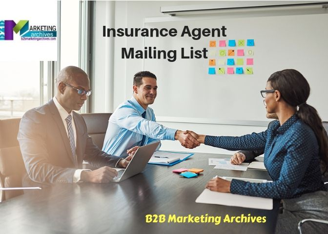 Insurance Agent Mailing List Organization Development Employee