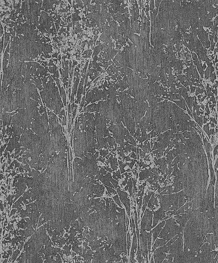 Arthouse Floresta Wallpaper. Arthouse Floresta Wallpaper Make a statement with this abstract organic design featuring distressed trees silhouettes on a textured background. It is suitable for heavy traffic areas and everyday life stains can be washed from its surface. Heavy Weight Vinyl finished with Glitter and Metallic highlights and embellished with a deep emboss. {affiliate link) #glitter #metalic #wallpaper