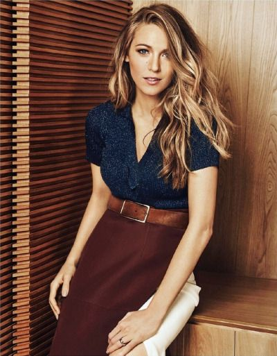 Blake Lively - Harper's Bazaar China July 2015 photoshoot.