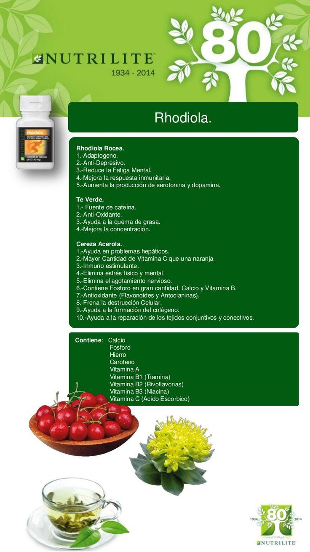 Catálogo de Productos Nutrilite, Otros beneficios que no sabías. …
