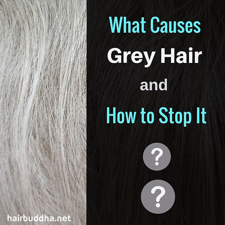 what causes grey hair and how to stop ittt