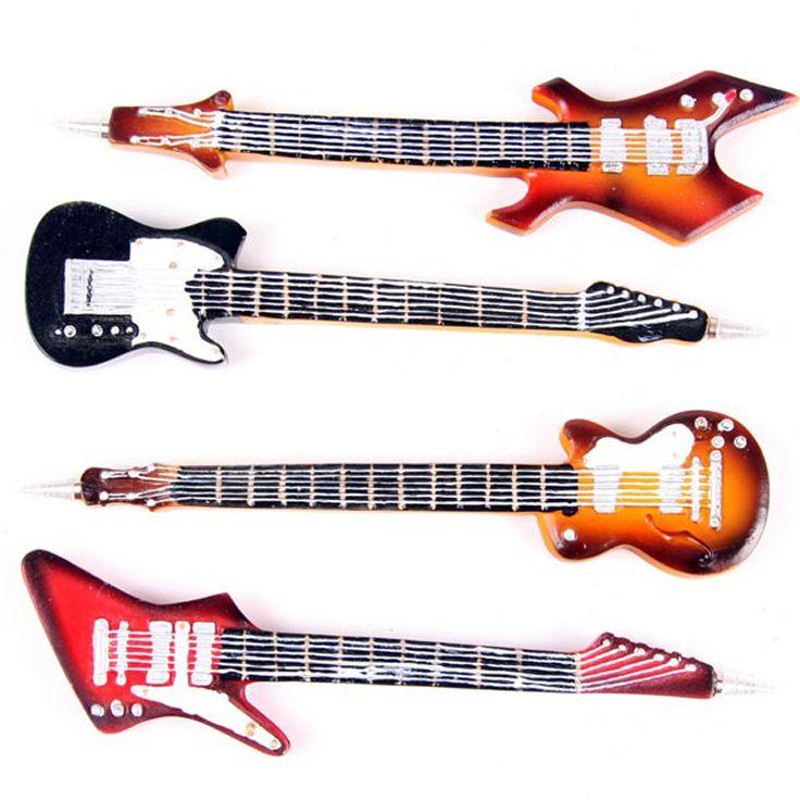 Funky Rock Guitar Novelty Pen