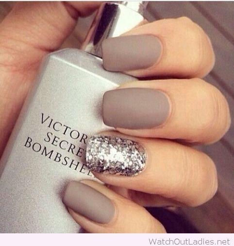 Classy Victorias secret bombshell manicure