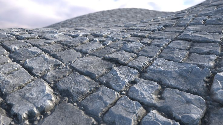 Rock Bricks Tile , Dachi Gog on ArtStation at https://www.artstation.com/artwork/6dQ20