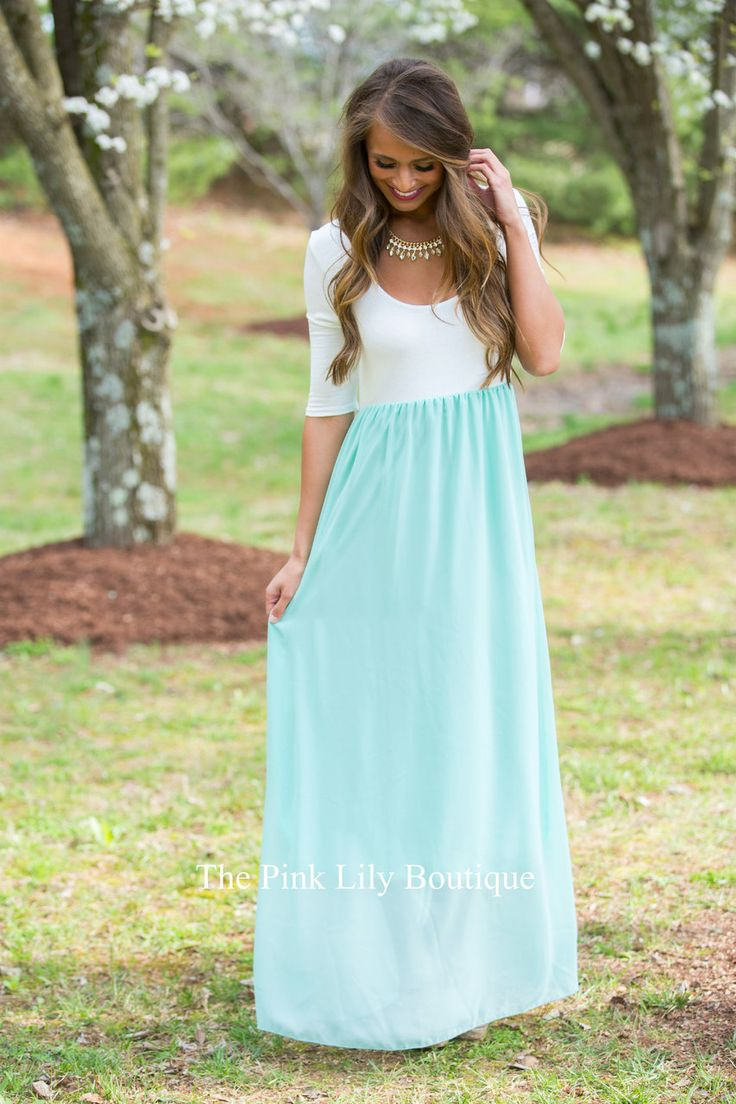 We adore these versatile maxi dresses! With lightweight and breathable fabric, 3/4 sleeves, and a timelessly elegant look, they are perfect for any occasion and any season!