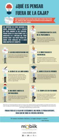Qué Es Pensar Fuera De La Caja #infografia #infographic #rrhh
