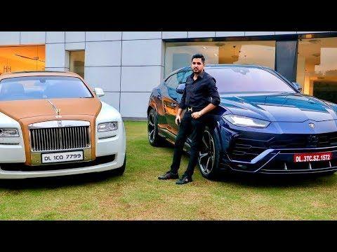 Piyush Nagar Car Collection Delhi Billionaire Youtube Car Collection Business Man Billionaire
