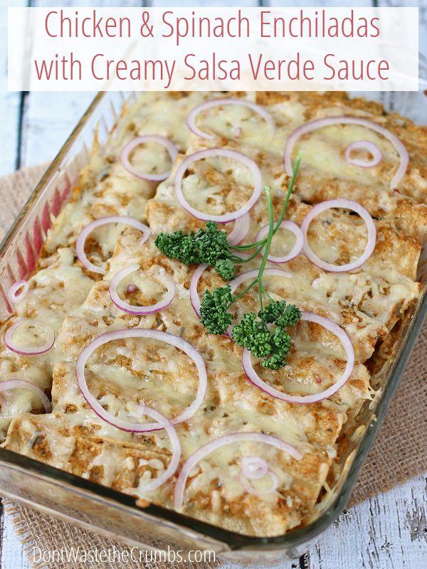Best 25+ Spinach enchiladas ideas on Pinterest ...