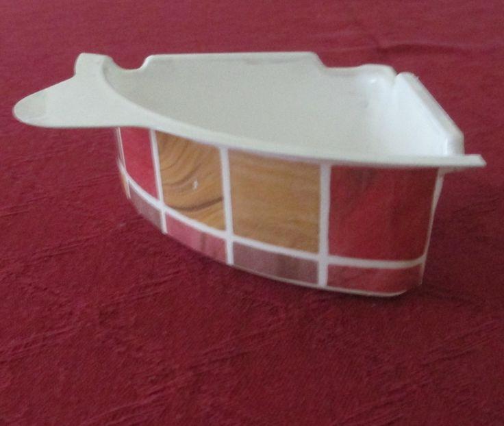 My dollhouse - new corner bath