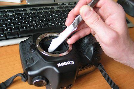 Чистка матрицы фотоаппарата в домашних условиях