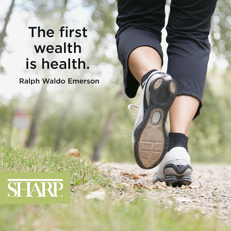 """""""The first wealth is health."""" - Ralph Waldo Emerson #quote #emerson #SharpHealthCare"""