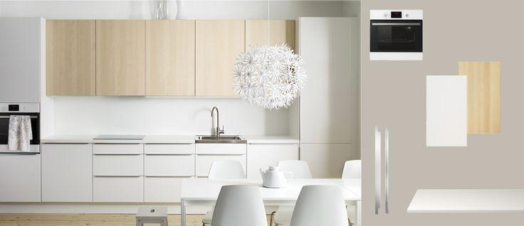 38 best images about cuisine on pinterest coins bench for Ikea cuisine faktum abstrakt gris