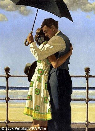 One of my favourite artists...Embracing by Jack Vettriano