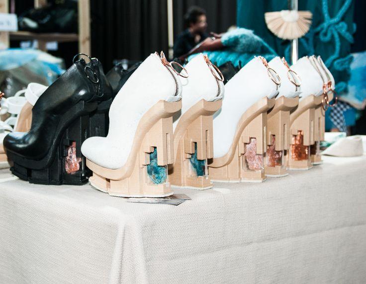 EXCIDIUM shoes backstage at fashionclash festival 2014  Chris van den Elzen x Judith van Vliet Photography Team Peter Stigter
