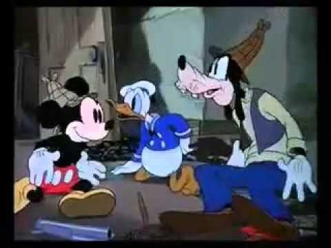 98 ミッキーのお化け退治 Lonesome Ghosts 19371224 - YouTube