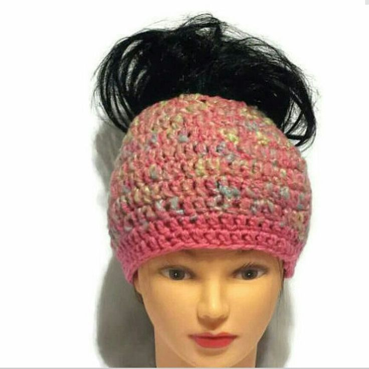New messy bun hat listing coming soon.