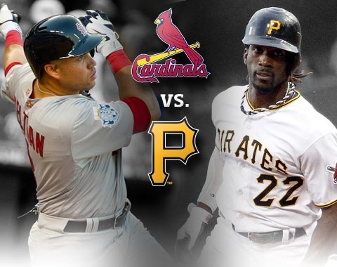 8-27-2012 - This is it!  The Pirates and Cardinals are set to collide in a 3 game series at PNC Park that will very likely shape the National League's 2012 postseason picture.     The Cardinals have won 16 of their last 25 - and have a two game lead over the Bucs for the second Wild Card spot.   Meanwhile, the Pirates are trying to avoid repeating their 2011 fade into oblivion - having now lost 13 of their last 19 games.      Tonight, it's A.J. Burnett v. Kyle Lohse.    Let's Go Bucs!!!