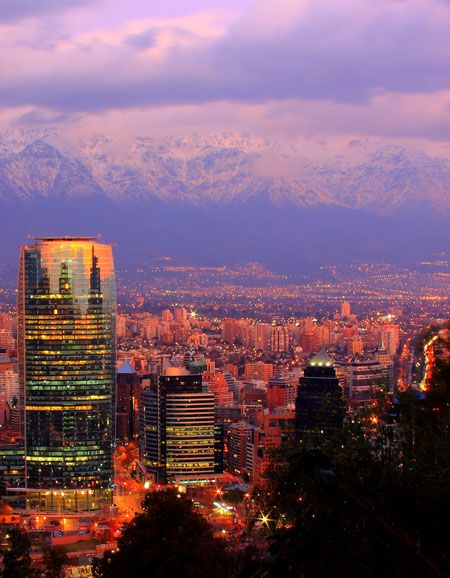 Santiago Sunrise, sunset: city photos at the golden hour – Lonely Planet blog