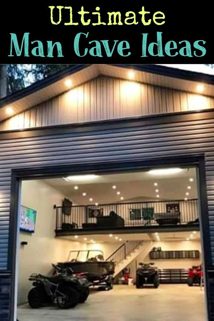 man caves on a budget on man cave ideas garage man cave ideas on a budget involvery in 2020 man cave home bar ultimate garage man cave garage pinterest