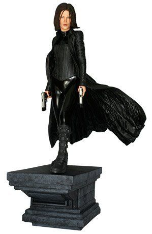 "HCG Hollywood Collectibles Underworld 1:4 Scale Selene Statue - Only 750 Pieces Worldwide! by Hollywood Collectibles. $335.46. Constructed from heavyweight polystone. Depicts Kate Beckinsale's character Selene. Limited to just 350 pieces worldwide. 1:4 scale statue stands 24"" tall. From the blockbuster Underworld film series. From the Manufacturer                A war has been raging between Vampires and Werewolves for centuries. Selene is a Vampire — a Death D..."