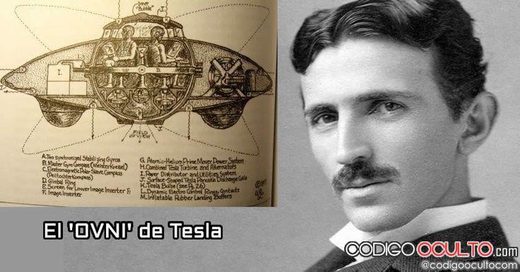 """El OVNI de Tesla:Al igual que los aviones de hoy, que están diseñados con ordenadores enormes, pantallas y monitores; el platillo volador de Tesla poseía una consola en el navegador con el cual podría observar todas las áreas alrededor del vehículo, además incluía lentes de aumento, lo que podría haber sido utilizado sin cambiar posiciones.  El increíble platillo volador de Tesla fue impulsado por la """"energía libre"""", aunque suene sorprendente para la época. Él no incluyó una fuente de…"""