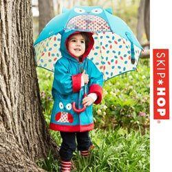 Pelerine si umbrele de ploaie Skip Hop Bufnita pentru copii mici 2, 3, 4, 5, 6 ani