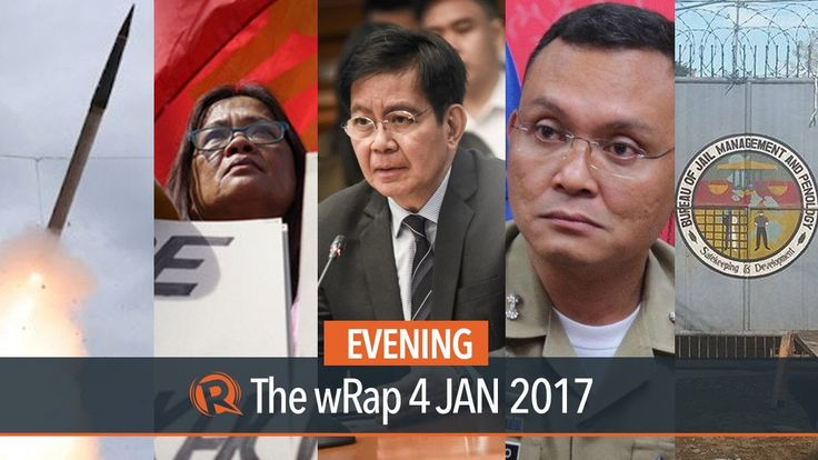 Pork barrel, Kidapawan jailbreak, Marcelino | Evening wRap - WATCH VIDEO HERE -> http://dutertenewstoday.com/pork-barrel-kidapawan-jailbreak-marcelino-evening-wrap/   Today on Rappler: – Lacson: P9-B pork barrel for lawmakers at the expense of calamity fund – 1 jail officer killed, over 100 detainees escape Kidapawan jail – Marcelino, Chinese co-accused urge Manila court to dismiss drug case – Labor groups urge Duterte to junk DOLE...