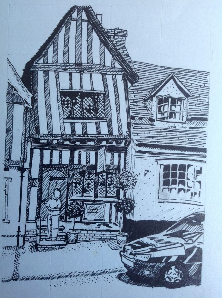 The Crooked House, Lavenham