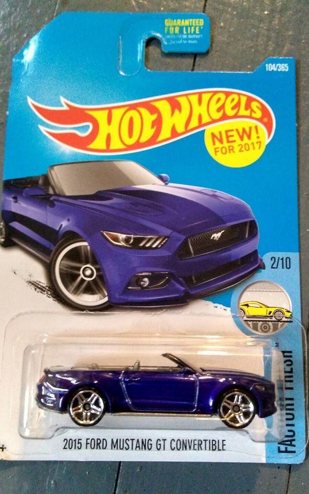 2015 Mattel Hot Wheels New2017 2015 Ford Mustang Gt Convertible
