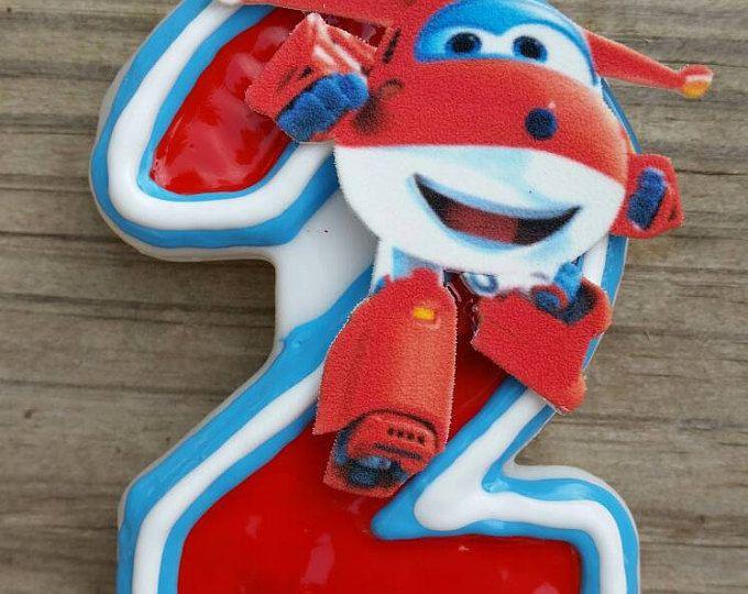 Super alas toppers cupcake toppers de avión la torta de