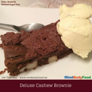 Best Ever Deluxe Cashew Brownie Recipe