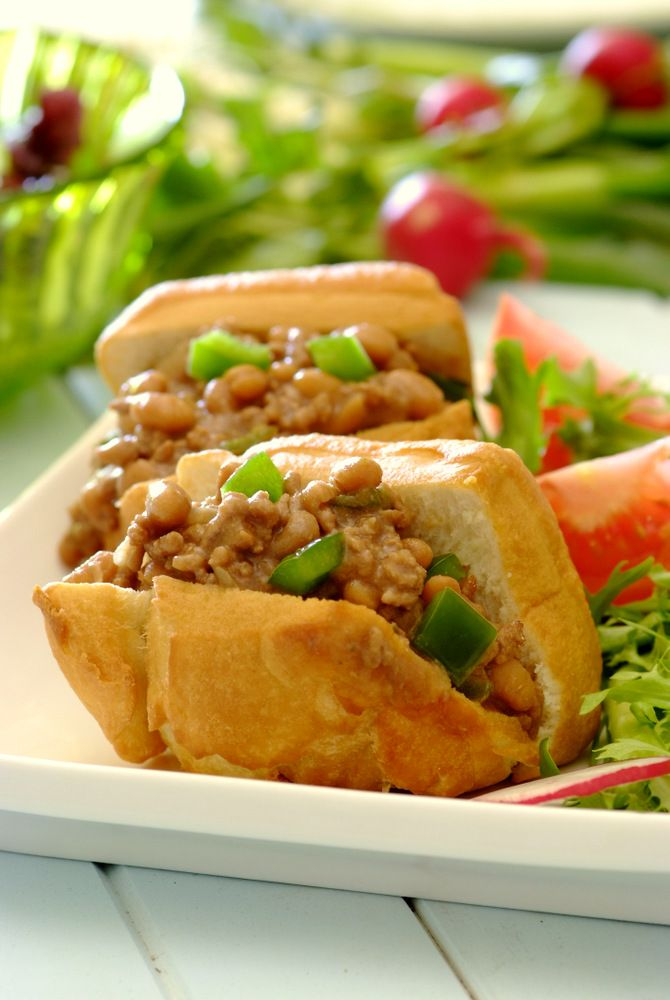 Mince & Beans with Vetkoek - a favourite South African recipe!  #SouthAfricanRecipes