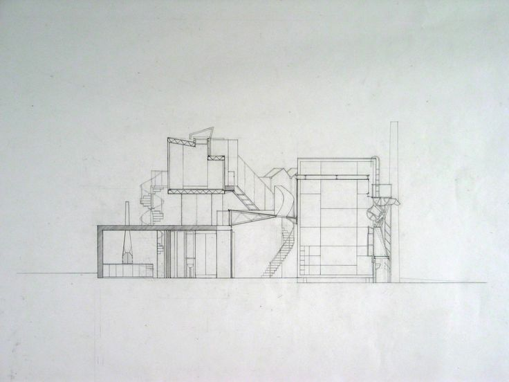 Jesse Reiser, Nanako Umemoto. Aktion Poliphile: Hypnerotomachia Ero/machia/hypniahouse, project, Wiesbaden, Germany, Section. 1989